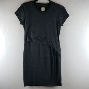 DOLAN LEFT COAST COLLECTION Dark Gray Tshirt Dress